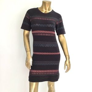 OPENING CEREMONY KNITS SHORT SLEEVE DRESS COTTON